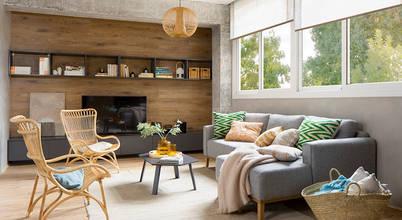 10 ví dụ phòng khách nhỏ với không gian ấm cúng tuyệt vời