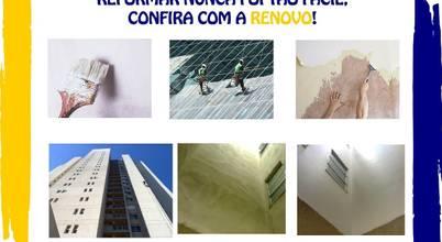 Limpeza de Fachada Renovo Reformas 3473-2000 Belo Horizonte