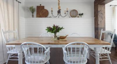 Renovated fashionable farmhouse flaunts a country fashion
