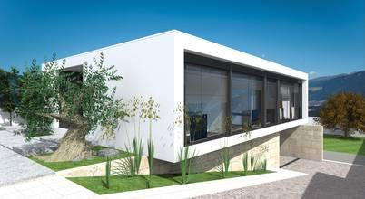 Maisons modernes et durables à Viseu, dans le centre du Portugal