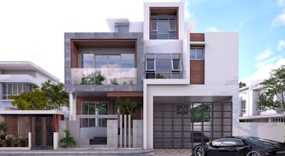 10 Modern and Elegant Two Storey Homes