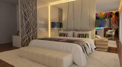 Dois quartos decorados com estilo e modernidade!