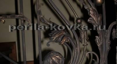 Кованые ограждения (кованые перила) и люстры: Кузнечная мастерская в Москве