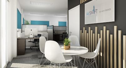 12 Office designs to inspire team spirit and productivity
