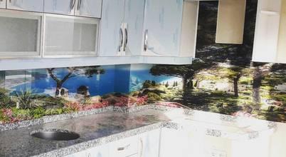 Öztaş Yapı Dekorasyon – Cam mutfak