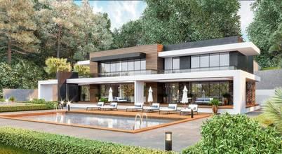Sapanca'da mimarisiyle büyüleyen süper lüks bir villa