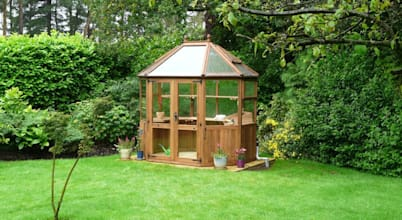 ​Preparing your garden for winter with garden rooms