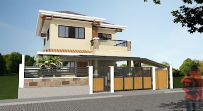 A stylish and modern house project in Talisay City