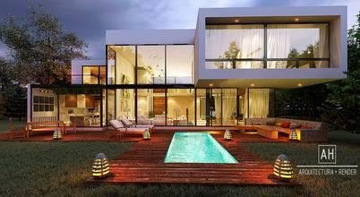 ah arquitectura + render