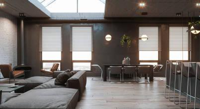 Coole Loft Apartments eines international agierenden Interior Designers