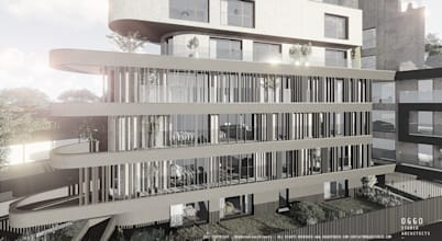 Edifício de habitação moderno com uma fachada fora de comum!