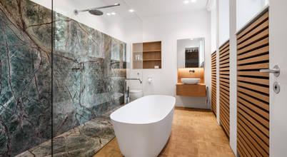 Lựa chọn của homify: 10 thiết kế phòng tắm nổi bật trong tháng 10