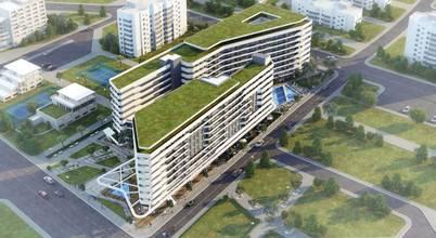 İzmir'in kalbinde yeşil odaklı bir konut projesi