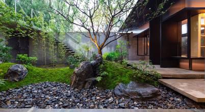 Mách bạn: Thiết kế phòng trà đạo nhỏ từ góc vườn tuyệt đẹp