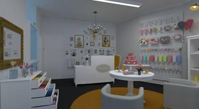 Projecto de loja de cake design: uma doçura de espaço!