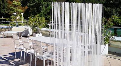 Raumteiler für die Terrasse von Interior Designern aus Berlin