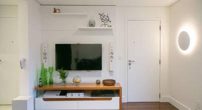 Design de interiores no estilo contemporâneo para apartamento em São Paulo