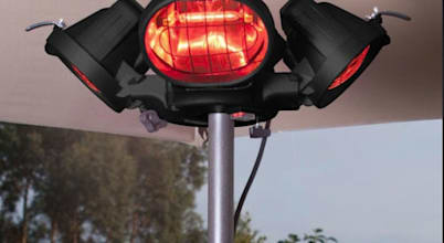 Outdoor and patio heaters take the chill out of your winter stargazing entertainment