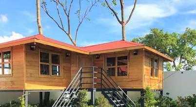 Casas y cabañas de Madera  -GRUPO CONSTRUCTOR RIO DORADO (MRD-TADPYC)