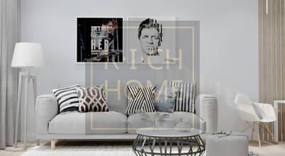 RICH HOME – дизайн интерьера, декорирование