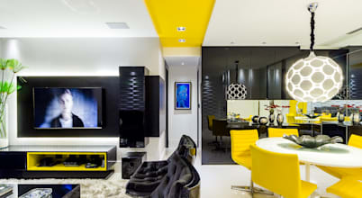 Projeto de Design de Interiores de Apartamento em Recife