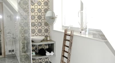 Schöne Badezimmer Konzepte einer Berliner Innenausstatterin