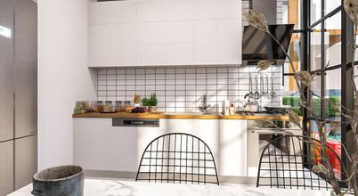Küçük mutfaklar için 10 dolap modeli