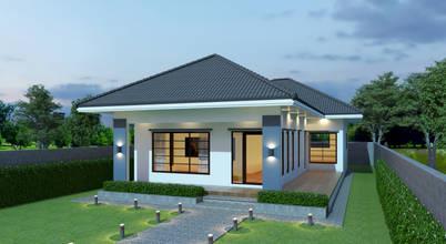 6 kiểu nhà mái Thái nhỏ, đẹp để bạn chọn xây năm 2019 (Kèm bản vẽ)