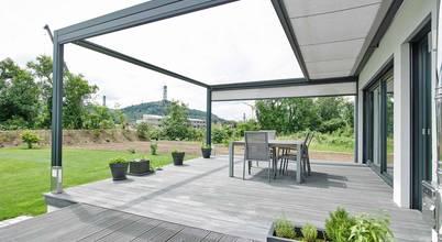 Innovative Design-Markise als perfekter Sonnenschutz für Garten und Terrasse
