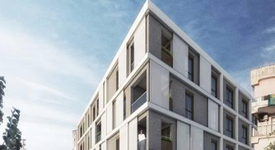Gelişen İzmir'in gözdesi olacak bir apartman projesi