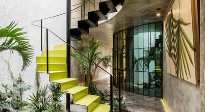 12 mẫu thang đẹp cùng những lưu ý bố trí thang trong nhà ở