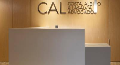 Um fantástico escritório de advocacia com vista sobre o Rio de Janeiro!