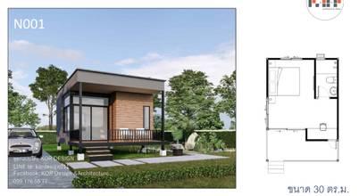 10 mẫu nhà thép tiền chế dưới 400 triệu diện tích từ 25-40 m2 (Kèm bản vẽ)