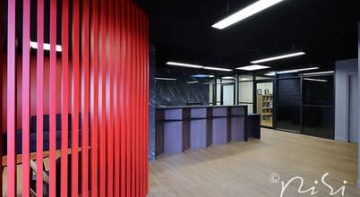 Rénovation moderne d'un bureau à Paris