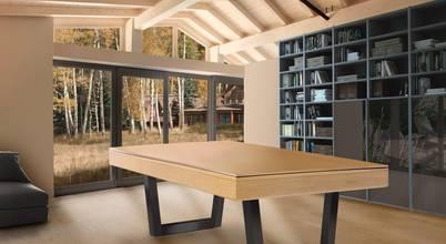 Uniquely designed pool tables by Xavigil in Paços de Ferreira