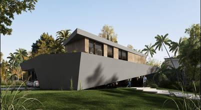 Diseño de vivienda moderna: Casa Isósceles en Nordelta