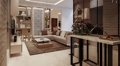 Modern Interiors for a luxurious home in Bangalore