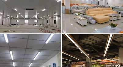 LED aydınlatma ögeleriyle ışıltılı iç mekanlar