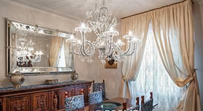 A touch of glamour: handmade Italian illumination