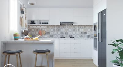15 Inspirasi Dapur Berwarna Putih Paling Disukai!