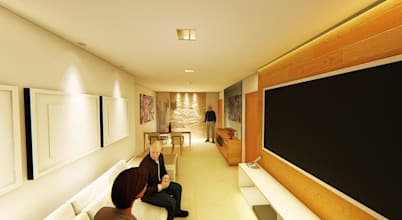 Projeto para decoração de apartamento funcional em Brasília