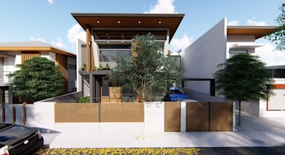 Modest 2-Storey Residence Fused with Natural Light and all the Inspiration!
