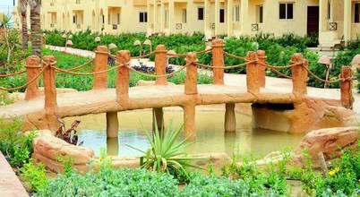 Green line for landscape egypt
