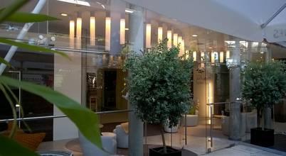 Decoração e design de interiores para hotel de charme