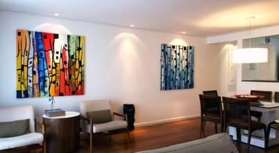 Reforma de ambientes sociais para apartamento em São Paulo