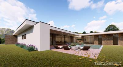 Projectos de arquitectura 3D e design de casas