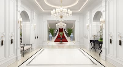 The 800 m² Neoclassical mansion by Sia Moore