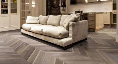 Wider Planks of American Walnut for Unique Parquet Flooring
