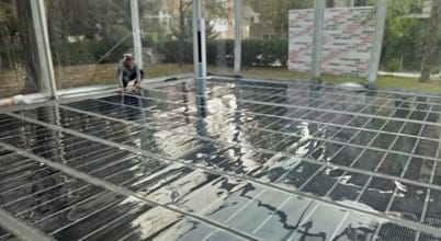 Yoga ve spor salonları için elektrikli yerden ısıtma sistemleri