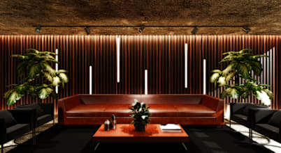 Projetos de Interiores de Lounge Corporativo em São Paulo